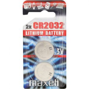 CR2032 Maxell Lithium Battery Button Coin Cell