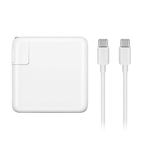 Replacement 61W USB C Power Adapter Charger Apple with 2 M Cable